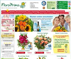Flora Prima Gutscheine März 2018