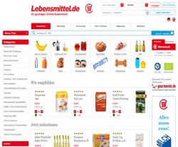 Lebensmittel.de Gutscheine März 2018