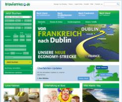 Irish Ferries Gutschein März 2018