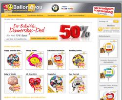 Ballon4you Gutscheine März 2018