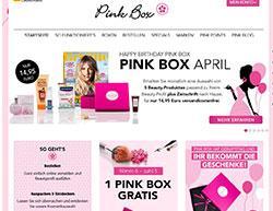 Pink Box Gutschein März 2018