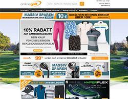 Online Golf Gutschein März 2018