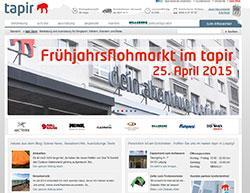 Tapir Store Gutschein März 2018