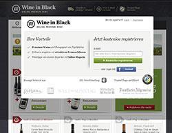 Wine In Black Gutschein März 2018