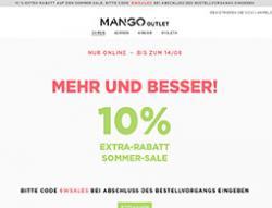 Mango Outlet Gutschein März 2018