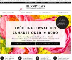 Bloomy Days Gutscheine März 2018