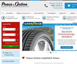 Pneus Online Gutscheine März 2018