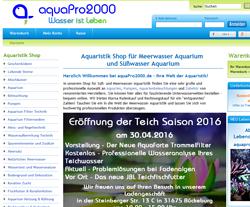 Aquapro2000 Gutscheine März 2018