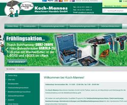 Koch-Mannes Gutscheine März 2018