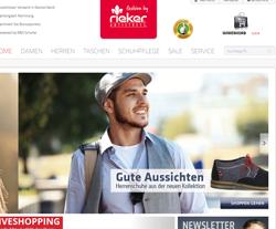 Rieker-Onlineshop Gutscheine März 2018