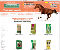 Pferdefuttershop Gutscheine März 2018