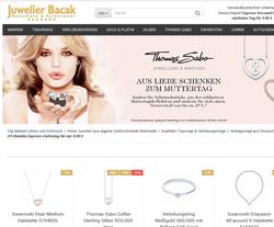 Juwelier-Bacak Gutscheine März 2018