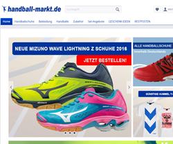 Handball-Markt Gutscheine März 2018