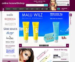Online-Kosmetikshop Gutscheine März 2018