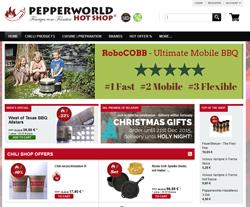 Pepperworld Hot Shop Gutscheine März 2018