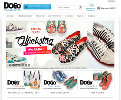 DOGO Shoes Gutscheine März 2018