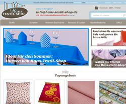 Hans Textil-Shop Gutscheine März 2018