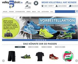 volleyBalldirekt Gutscheine März 2018