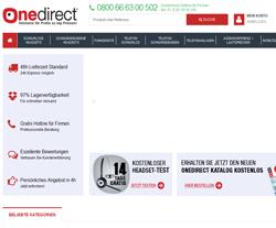 onedirect Gutscheine März 2018