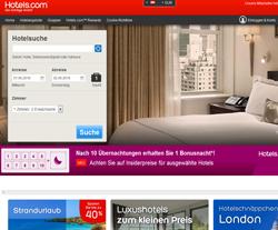 Hotels.com AT Gutscheine März 2018