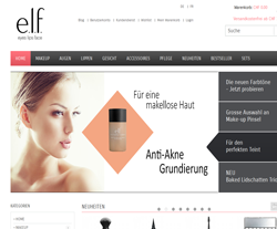 elf cosmetics Gutscheine März 2018