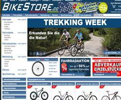 Bikestore Gutscheine März 2018