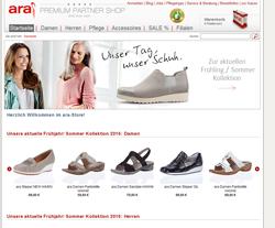 Ara-Schuhe-Shop Gutscheine März 2018