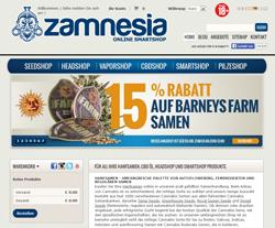 Zamnesia Gutscheine März 2018