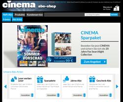 Cinema-Abo Gutscheine März 2018