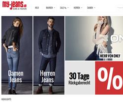 My-Jeans Gutscheine März 2018