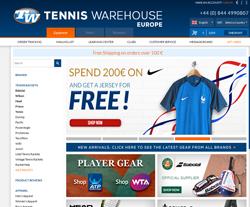 Tenniswarehouse-Europe Gutscheine März 2018