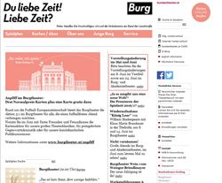 Burgtheater Gutscheine März 2018