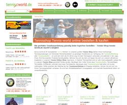 Tennis-World Gutscheine März 2018