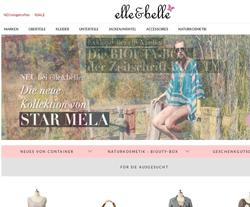Elle-Belle Gutscheine März 2018