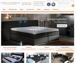 Sofa Dreams.com Gutscheine März 2018