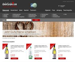 WeinGrube Gutscheine März 2018