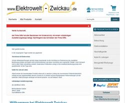 Elektrowelt-Zwickau.de Gutscheine März 2018
