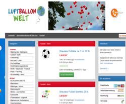 Luftballon Welt Gutschein März 2018