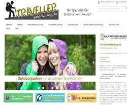 Traveller Bekleidung Gutscheine März 2018