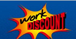 Work-Discount Gutscheine - März 2018